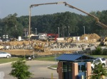 View of site from JSU Student Center