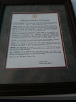 Resolution from the Jackson City Council