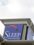 Sleep Inn Rooftop Sign
