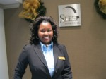 Sleep Inn Ribbon Cutting - Front Desk