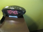 Sleep Inn Bedside Clock