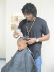 Darren Cannady, Barber for Blessed Handz