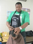 "Daryl ""Big D"" Courtney, Barber/Owner of Blessed Handz"