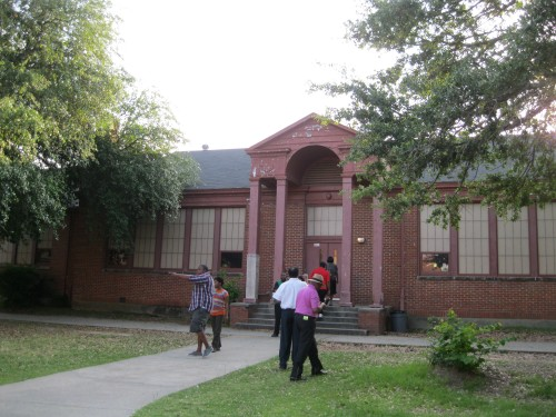 Older segment of school