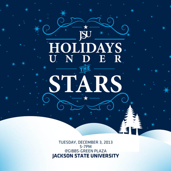 JSU holidays under the stars EFLYER