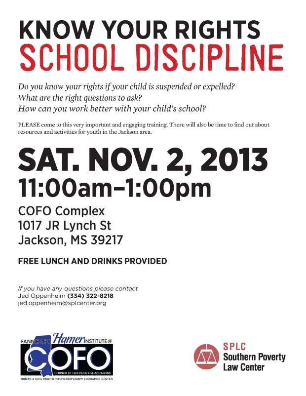 KYR School discipline 110213