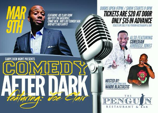 comedy show, The Penguin