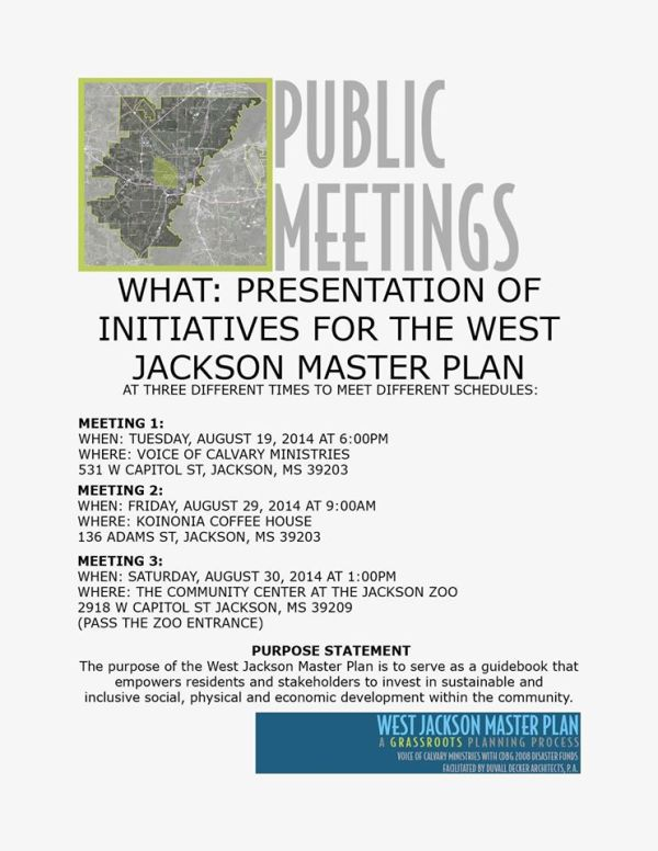 west jackson meetings