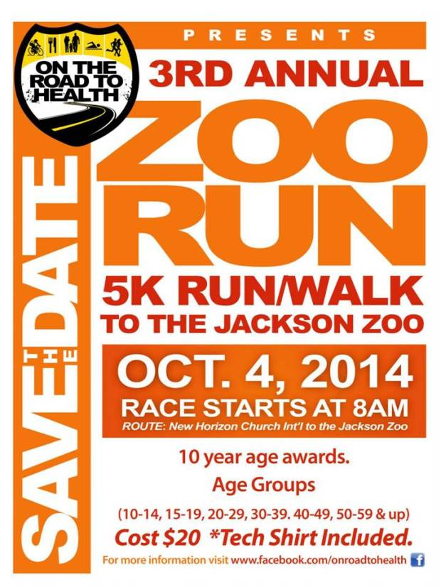 3rd annual zoo run